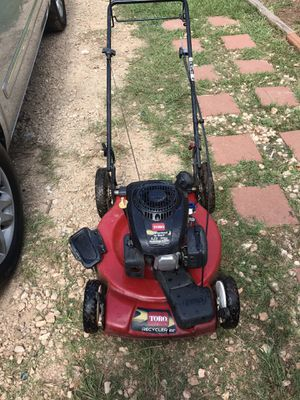 Lawnmower and weed Eater for Sale in Marshall, TX