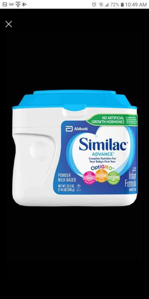 Similac sensitive and advance for Sale in Mahtomedi, MN