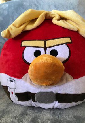 "14"" angry bird stuffed animal pillow $15 for Sale in Menifee, CA"