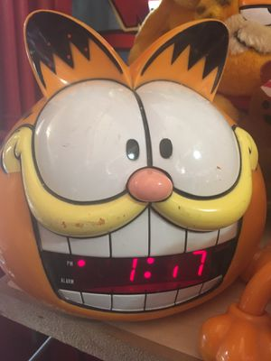 Vintage Garfield Vintage Alarm Clock for Sale in Houston, TX