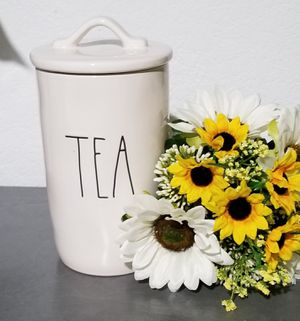 Rae Dunn TEA canister / farmhouse decor kitchen home storage for Sale in East Compton, CA