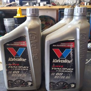 5 Qts Oil 60w for Sale in Fresno, CA