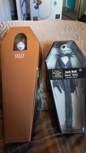 Jack and Sally in coffins for Sale in Las Vegas, NV