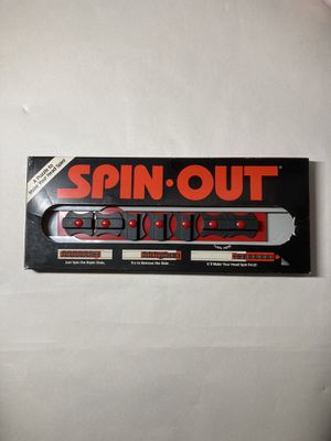 Vintage 1987 Spin Out Puzzle Game for Sale in Oswego, IL