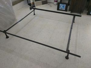 I king size metal bed frame and queen for Sale in Fort Worth, TX