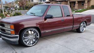 1998 Chevy Silverado on 24s for Sale in Livermore, CA