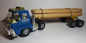 Vintage Structo Toy Logging Truck for Sale in Chesapeake, VA