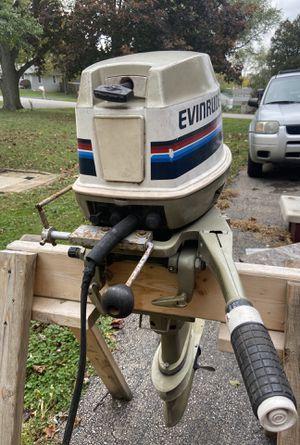 35HP Evinrude tiller outboard for Sale in Carol Stream, IL