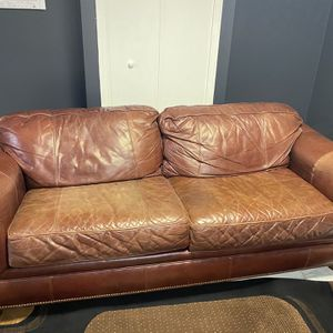 Brown Leather Couches for Sale in Macomb, MI