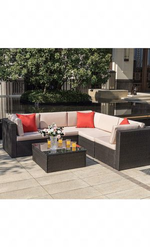 Outdoor furniture, patio sectional, outdoor patio furniture, 800$ retail! for Sale in Maricopa, AZ
