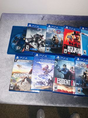 I have several games to sell I can sell them all or separately for Sale in Las Vegas, NV