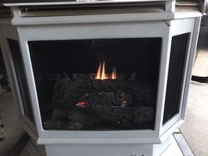 Martin LP has fireplace with fan for Sale in Norfolk, VA