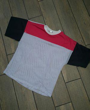 Vintage 80s Nucleus SeeThrough Fishnet Sports T-Shirt rare company for Sale in Phoenix, AZ
