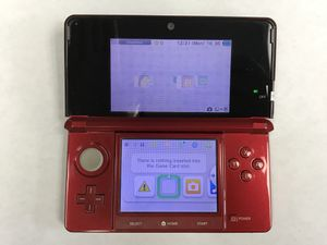 Nintendo 3DS Console CTR-001(USA) Metallic Red with Charger $59.99 for Sale in Tampa, FL