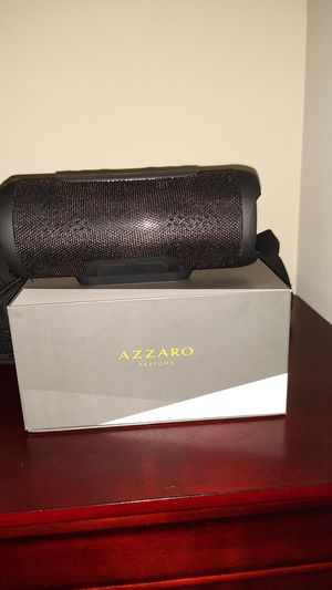 Azzaro Bluetooth speaker for Sale in Gaithersburg, MD