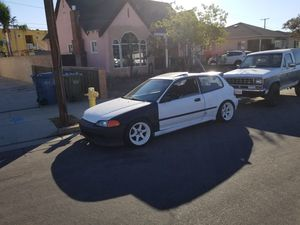 1992 honda civic si (TRADE FOR CRV) * for Sale in Pico Rivera, CA