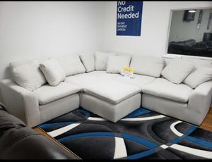 WE ARE OPEN FOR YOU! COMFY WHITE SECTIONAL/SUPER SALE PRICE TODAY! NO CREDIT CHECK FINANCING! for Sale in Tampa, FL