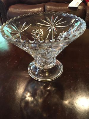 Crystal bowl for Sale in Clifton, VA