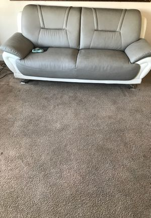 Loveseat sofa Kitchen table glass with four chairs 55 inch LG plasma smart TV for Sale in San Francisco, CA