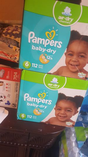 I have three pampers size one size 2 two sizes 6 for Sale in Lake Worth, FL
