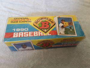 1990 Bowman baseball set. for Sale in Oceanside, CA