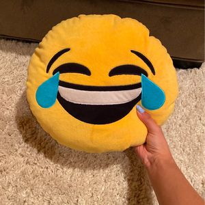 Laughing Emoji Pillow 😂 for Sale in McAllen, TX