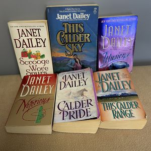 6 Janet Dailey Paperback Romance Books for Sale in Allendale, NJ