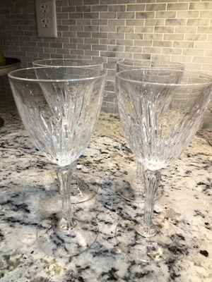 Set of 4 wine glasses for Sale in Gilbert, AZ