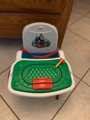 Fisher-Price Thomas Tray Play Booster Seat, Blue for Sale in Tucson, AZ
