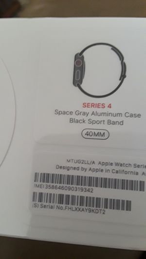 Apple watch new, cellular, GPS. series 4, 40 mm for Sale in Fort Lauderdale, FL