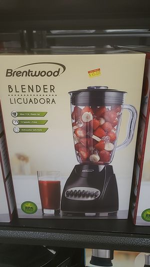 Brentwood BLENDER 12 speed 50 oz plastic jar for Sale in Costa Mesa, CA
