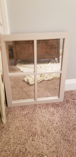 Window Style Mirror for Sale in Charlotte,  NC