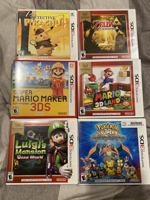 3ds games for Sale in Torrance, CA