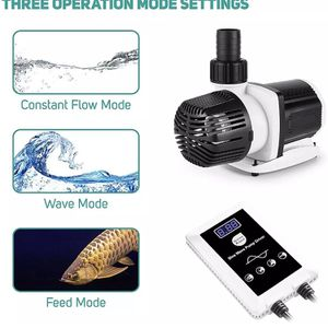 Orlushy 24V Dc Aquarium Water Pump Ultra-Quiet Return Pump With Up To 20 Speed S for Sale in Las Vegas, NV