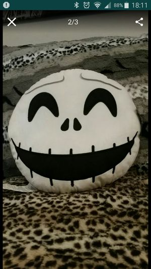 1 X The Nightmare Before Christmas Plush Pillow. for Sale in Round Rock, TX