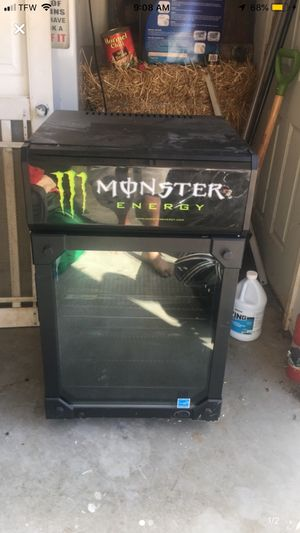 Mini fridge MONSTER ENERGY for Sale in Hendersonville, TN