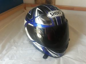 Shoei motorcycle helmet gsxr r6 r1 cbr kawasaki for Sale in Pomona, CA