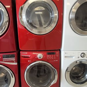Samsung Front Load Washer And Electric Dryer Mix And Match Set Used In Good Condition With 90day's Warranty for Sale in Brentwood, MD