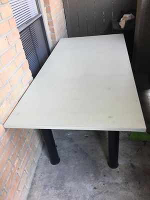Long office work desk for Sale in Houston, TX