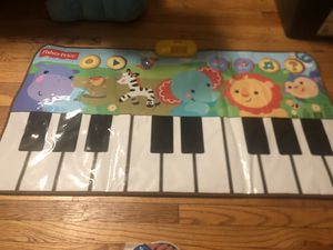 Fisher-Price Music Piano/Keyboard - Rain Forest Dancin' Tunes Step-On Keyboard for Sale in Goshen, NY