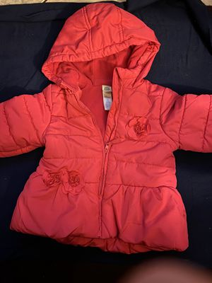 Toddler jacket- baby girl jacket size 24m for Sale in Whittier, CA