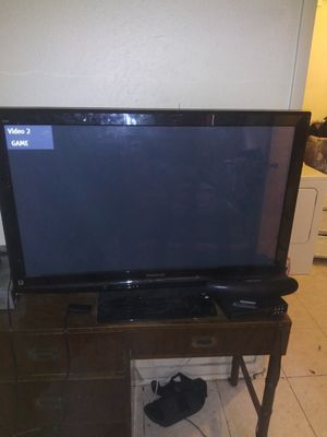 55inch TV with ruko box $100 for Sale in St. Petersburg, FL