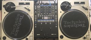 Technics Turntable DJ Setup (4 REAL DJ's Only) Serato Dj pro DVS for Sale in Corona, CA
