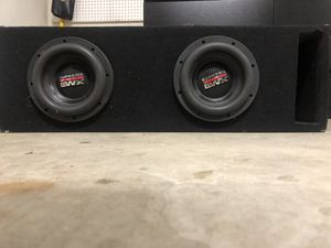 "NEW (2) DB Drive - 8"" Subwoofers for Sale in Modesto, CA"