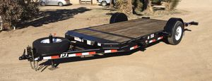 2016 PJ 7' x 15' Pneumatic Tilt Trailer 7k GVWR for Sale in Pinon Hills, CA