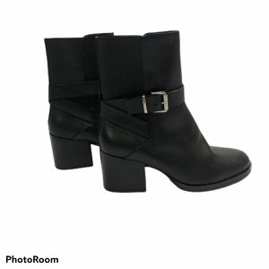 COS Black Leather Strap Ankle Boots for Sale in Fort Worth, TX