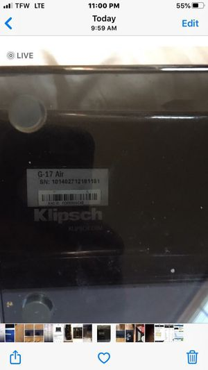 Klipsch G-17 Air for Sale in Collinsville, IL