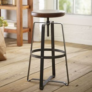West Elm's Adjustable Industrial Swivel Stools (4 in total) for Sale in Washington, DC