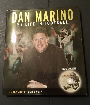 DAN MARINO Book w/DVD for Sale in Livonia, MI