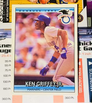 1992 DONRUSS ALL STAR KEN GRIFFEY JR. #24 SEATTLE MARINERS HALL OF FAME for Sale in San Diego, CA